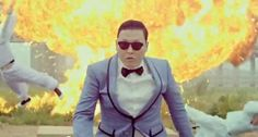 One of Psy's cannier moves has apparently been to waive copyright on 'Gangnam Style' so that anybody can use the music and the video as they like.