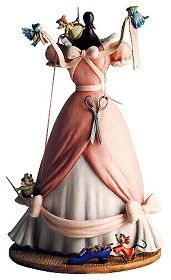 WDCC Disney Classics_Cinderella's Dress  A Lovely Dress For Cinderella