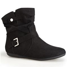 $69.50 Ankle Boots, in Wide....No worries about calf width | Plus ...