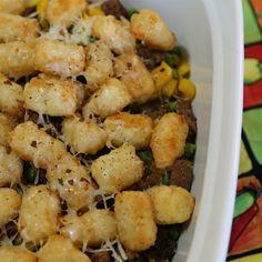 The best tater tot casseroler recipe around.