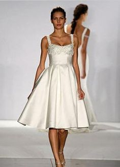 Wedding Inspiration: Simple Short Wedding Dresses