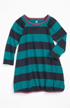 Tea Collection 'Rhohkea Stripe' Play Dress (Little Girls & Big Girls) | Nordstrom