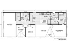 Riverknoll 40663KFleetwood Homes Houses Pinterest