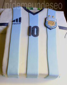Torta camiseta de Argentina - Pídeme un Deseo