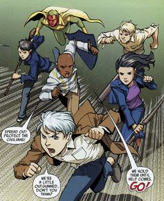 Young Avengers in Secret Invasion: Runaways/Young Avengers #1