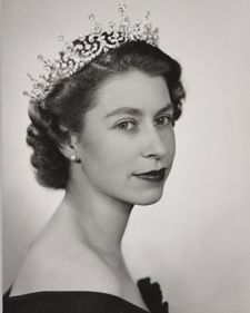 Dorothy Wilding - 1952 portrait.  Should check npg.org.uk for a bunch of great portraits of QE ii