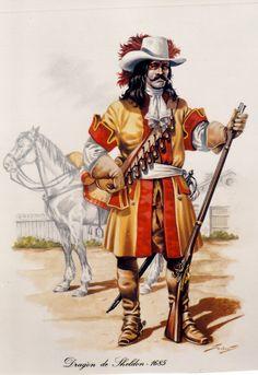 Dragones de Pavia 1685