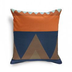 I just ordered two pillows... Can't wait to see how they look in my living room! Azeri Pillow Cover   dotandbo.com