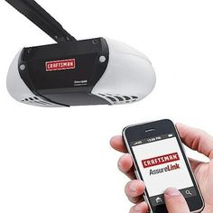 Are you scrambling to locate the garage door opener every time you pull the car into your driveway? Craftsmans Assurelink Garage Door Opener...