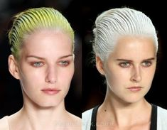 Hairstyle trends s-s 2012 dip dyed hair