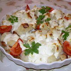 Pirított csirkemelles-sajtos karfiol Recept képpel -   Mindmegette.hu - Receptek