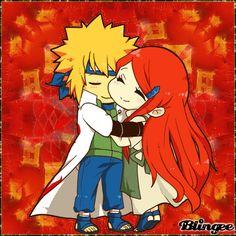 Minito Naruto's Parents | Love This Couple! Naruto's Parents!