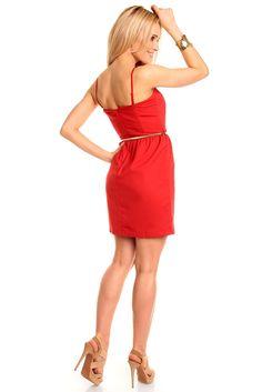 fa02ff10328 Robe courte de soirée robe courte de cocktail rouge TM-X2492 Robe De Soirée