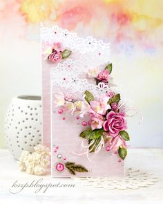 Wild Orchid Crafts: Cascade card