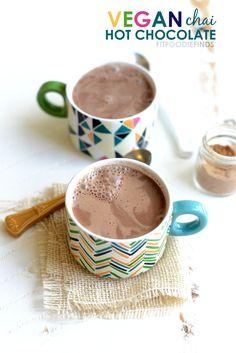 Vegan Chai Hot Chocolate  #Vegan  #Chai  #HotChocolate