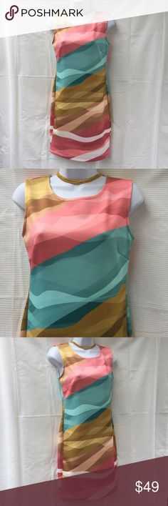 30% OFF new Venus multicolor bodycon dress medium NWOT pretty Venus colorful sexy bodycon dress. Fabric is soft and comfy. Size medium. Pink blue yellow. Check out my closet, we have a variety of women's, lululemon VS Victoria Secret, handbags purse 👛 Aerosoles, shoes 👠fashion jewelry, pineapple 🍍 black choker gold silver necklace, clothing, dress, Beauty, home 🏡 .  Ships via USPS. Smoke & Pet-Free. Don't forget to bundle you save big! Offers 30% OFF bundle discount. Always a FREE GIFT…