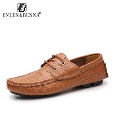 ea54ea2b9ad 36-47 Designer Shoes Male Genuine Leather Shoes Flats Slip on Lofers  Moccasins Men Casual
