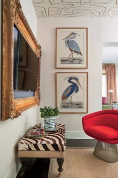 Designer Story: The Sophisticated Sensibility of Meg Lonergan. Modern and traditional mix.