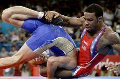 U.S.'s Jordan Burroughs wins gold in 74 kilogram freestyle wrestling