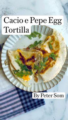 Mexican Food Recipes, Vegetarian Recipes, Cooking Recipes, Healthy Recipes, Breakfast Tacos, Breakfast Recipes, Dinner Recipes, Brunch, International Recipes