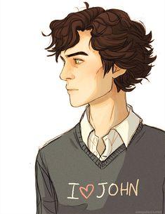 Not a Johnlock shipper. Sherlock Meme, Sherlock Tumblr, Sherlock Holmes John Watson, Sherlock John, Johnlock, Hunger Games, Gotham, Benedict And Martin, Harry Potter