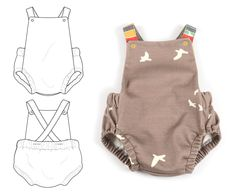 B & T summer romper....has a good tutorial