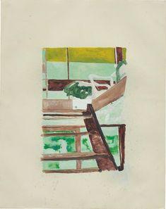 Peter Doig, 'Briey Interior - Unité d'habitation', 1996