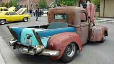 Find this Rat Rod or one like it by  Clicking Here      Not sure what the make and model of this Rat Rod truck is in this post.  But there ...