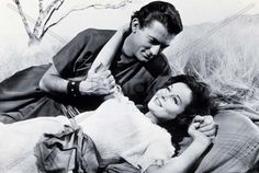 "DAVID AND BATHSHEBA (1952) - Gregory Peck as ""King David"" - Susan Hayward as his lover ""Bathsheba"" - Directed by Henry King - 20th Century-Fox - Publicity Still."