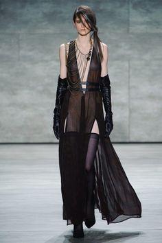 necklace score: 3.7, outfit score: 3.2 || Nicholas K