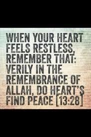Remember Allah.