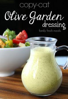 Copycat olive garden salad dressing recipe - famiyfreshmeals.com - sub splenda for sugar and greek yogurt for mayo.