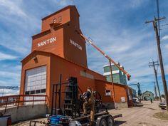 Nanton grain elevators | Places to Visit | Pinterest | Exploring ...