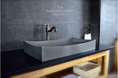 Bathroom Vessel Sinks - Granite - marble - Basalt for Fancy bathroom