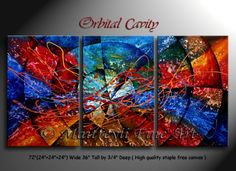 abstract paintings orbital cavity abstract painting