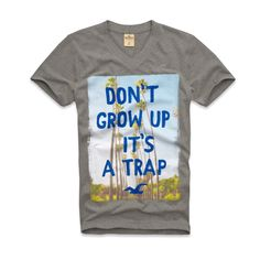 Don't grow up it's a trap!