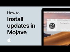 How to install software updates on your Mac in macOS Mojave — Apple Support Apple Support, Science And Technology, Romans, Youtube, Youtubers, Youtube Movies, Novels