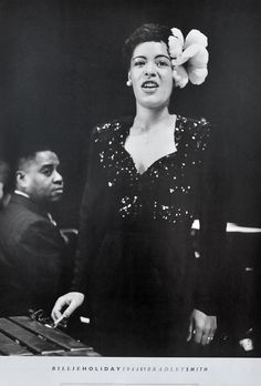 Billie Holiday 1944 by Bradley Smith