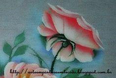 pintura em tecido rosa virada passo a passo.