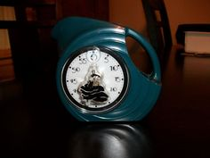 Fiesta Ware dark green kitchen timer