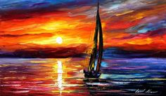 SEA LOVE LEONID AFREMOV by Leonidafremov.deviantart.com on @deviantART