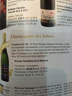 Champagner des Jahres