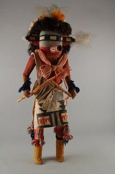 Salamopea Thata Shoktepona Brooklyn Museum: Arts of the Americas: Kachina Doll (Salamopea Thata Shoktepona)