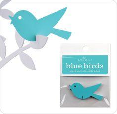 Wishing Birds Blue