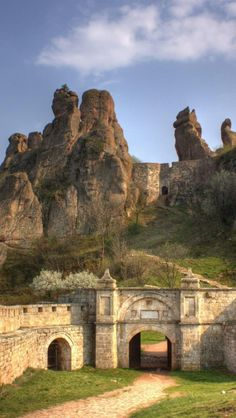 Belogradchik, Bulgaria amazing rock resort at western Bulgaria.