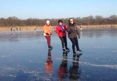Outdoor Ice Skating, Utrecht, Figure Skating, Skate, Mountains, Winter, Nature, Photos, Prints