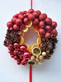 Coronita Craciun din brad natural/Christmas Wreath