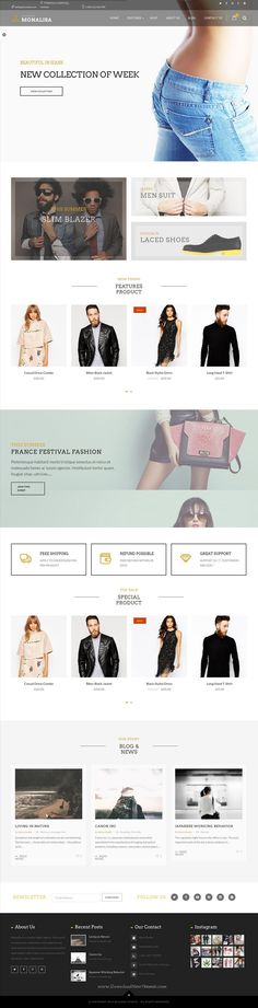 Monalisa is Creative Multipurpose WordPress Theme comes with 10+ stunning Home Pages variations viral #website. Demo #eCommerce #onlineshop