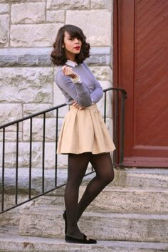 skirt and slipper....yeesh.lov it.
