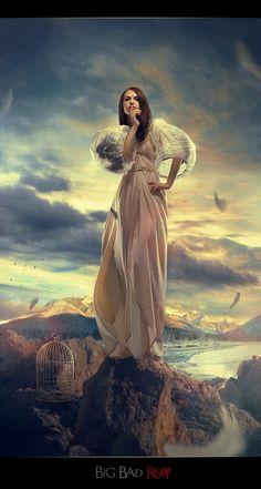 Freedom (Impressive Photo-Manipulations by Irina Istratova on CrispMe)